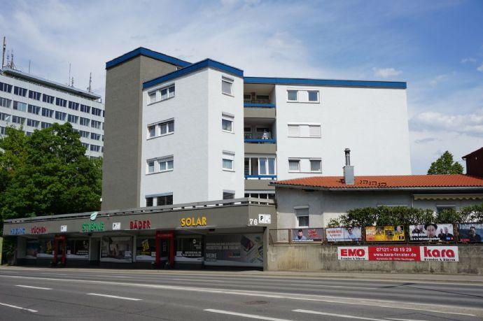 Große 1 Zimmer-Eigentumswohnung mit Balkon und Garage