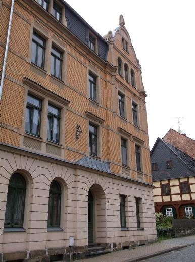 Zentrumsnahe 2-Raum-Wohnung in Sebnitz zu vermieten!