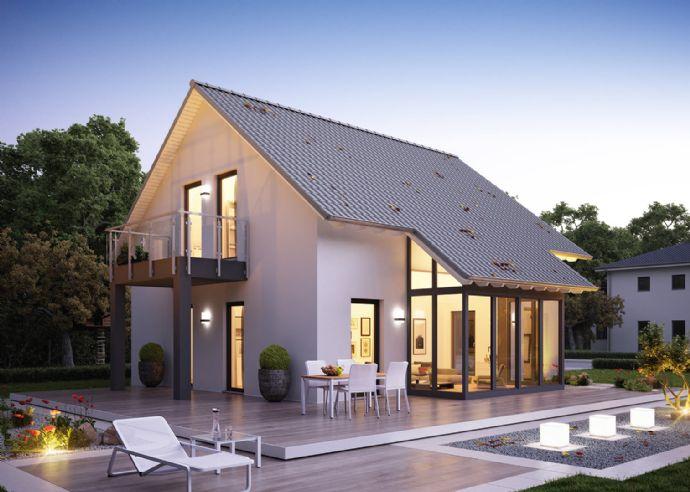 Gehobenes Einfamilienhaus mit Freiraumwandhöhen von 2,75m