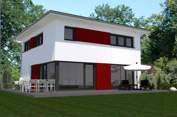 Einfamilienhaus in Stadthausarchitektur.