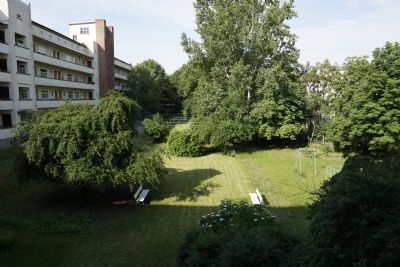 NUR EINEN STEINWURF VON DER FH ENTFERNT - 2 ZKB in der Altonaer Straße