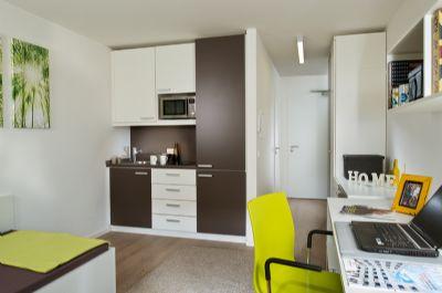 1m blierte 1 zimmer wohnung in technologiepark und universit tsn he apartment bremen 298f74d. Black Bedroom Furniture Sets. Home Design Ideas