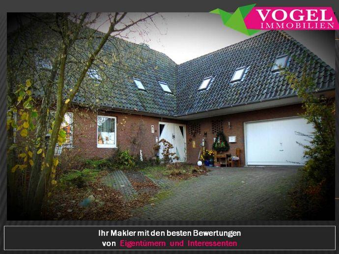 *** MFH: Grosse Erdgeschoss-Whg. & 2 ETW & Schwimmhalle – Wohnen / Arbeiten / Gesundheitszentrum / Kanzlei / Büro etc. *** Vogel Immobilien