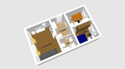 Stilvolle-möblierte 2-Zimmer-Moderne-Wohnung mit Einbauküche in Ulm Weststadt/Söflingen