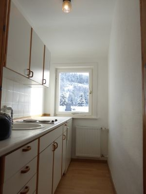 Einbauküche im Obergeschoss