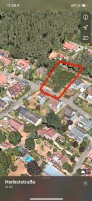 Baugrundstück für eine Villa, EFH, DHH, RH sowie ein MFH mit 10 Wohneinheiten in sehr guter Wohnlage zu verkaufen!