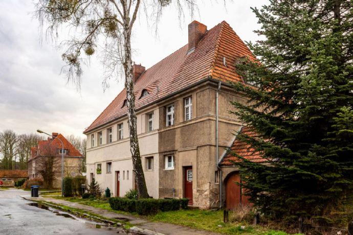 Interessantes Haus in historischer Eisenbahnersiedlung