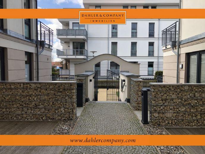 Reserviert: Exklusive Wohnung in bäderarchitektonischer Villa in Börgerende