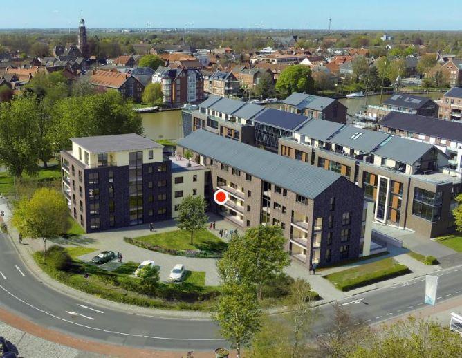 Hochwertige 3-Zi-Wohnung in Leer Zentrum zu vermieten