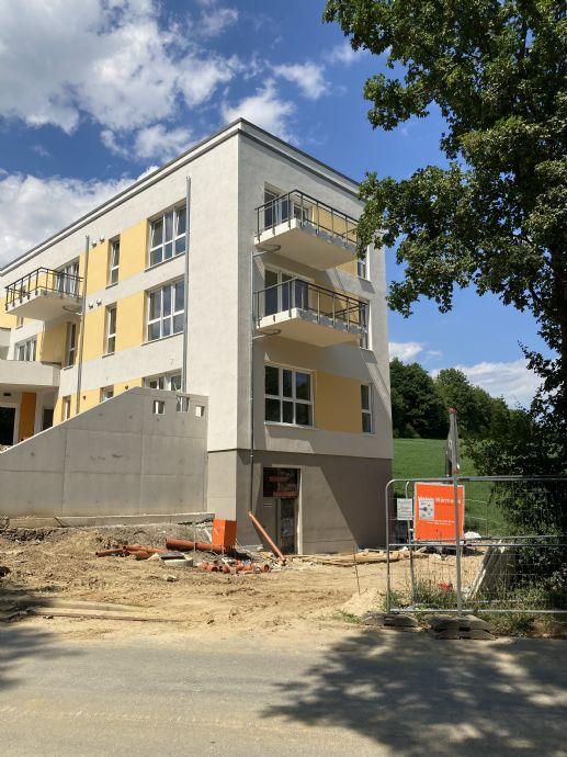 Neubau: Erstbezug, barrierefrei, Sonnen-Balkon, großer Wohn-/Essbereich..., mit dem Aufzug bis zur W