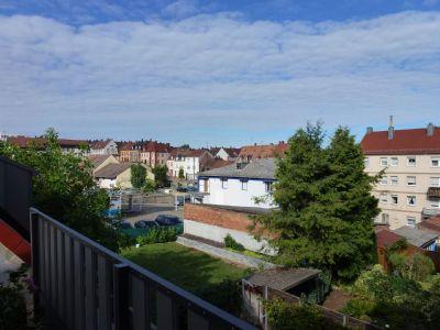 Blick von Dachterrasse