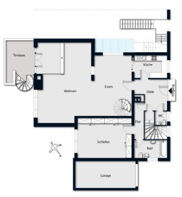 Grundriss, Erdgeschoss