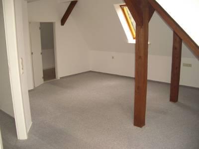 Schlafzimmer mit Abstellraum