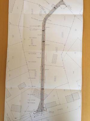 Grundstücksaufteilung