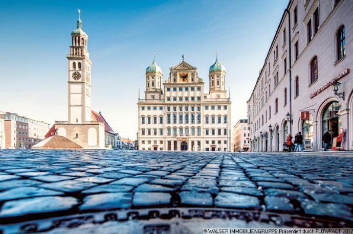 Die ideale Kapitalanlage! Vermietetes Apartment in ruhiger Lage von Augsburg!
