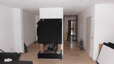Wohnzimmer-Marmorfußboden