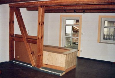 OG - ELW - Wohndiele mit Treppenaufgang