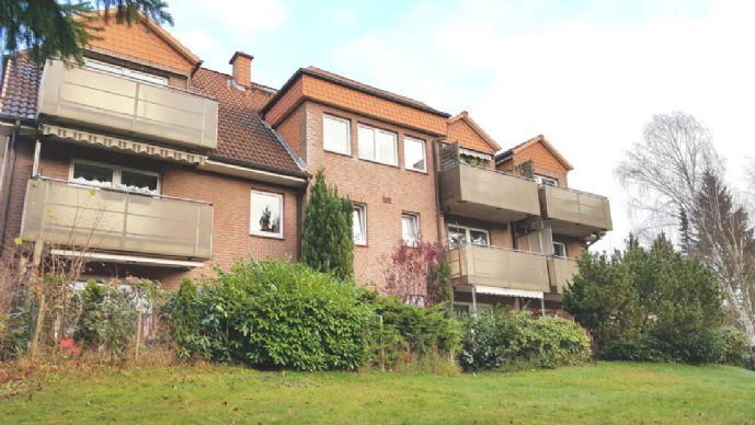 Schöne 3-Zi.-Whg. (ca. 78 m²) mit großer Terrasse in ruhiger Lage von Schwarzenbek Zentrum.