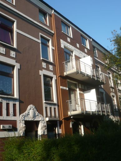 Bahrenfeld: Senioren - und behindertengerechte 2 - Zimmerwohnung im Erdgeschoss