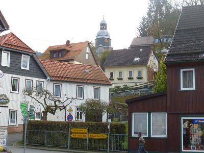 Ortskern Wildemann mit Kirche