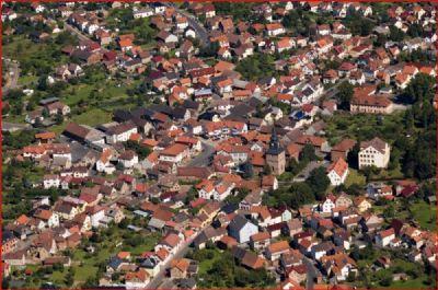 Luftaufnahme von Tiefenort