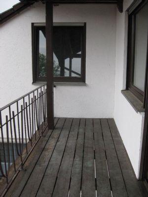 Balkon Blick Ri. Westen