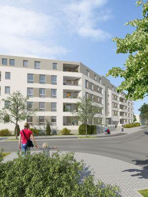 neubau mit s d loggia zum begr nten innenhof wohnung mannheim 2hcxp48. Black Bedroom Furniture Sets. Home Design Ideas