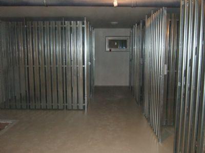 Kellerabteile 6-8 m² für jede Wohnung