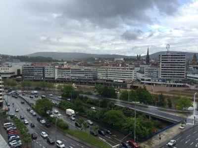 Ausblick vom Gebäude