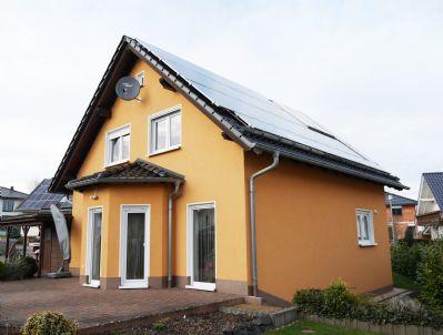 Photovoltaikanlage auf dem Hausdach