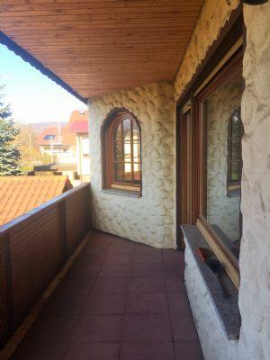 Balkon und Erker