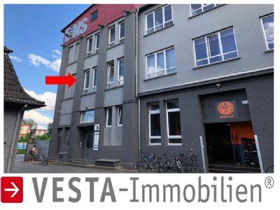 HANAUER LANDSTRAßE: WOHNBÜRO Loft – alte Fabrik Etage mit hohen Decken !