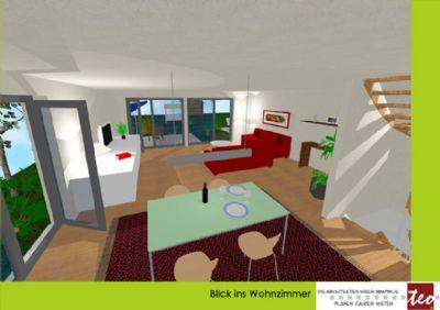 Wohnzimmer Eckhaus