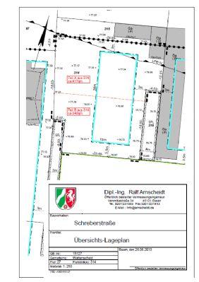 Lageplan westliches Baufeld