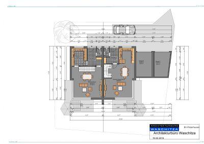 Grundrissplan Erdgeschoss