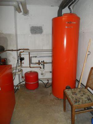 Zentraler Wamwasserboiler