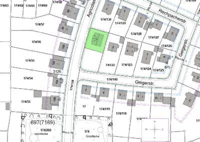 Lageplan Haus 1
