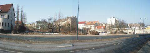 Eckgrundstück an der Bundesstraße