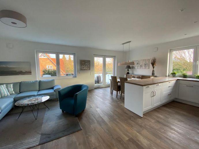 Exklusives Wohnen in zentraler, ruhiger Lage in Stuhr/Brinkum; 3-Zimmer Wohnung