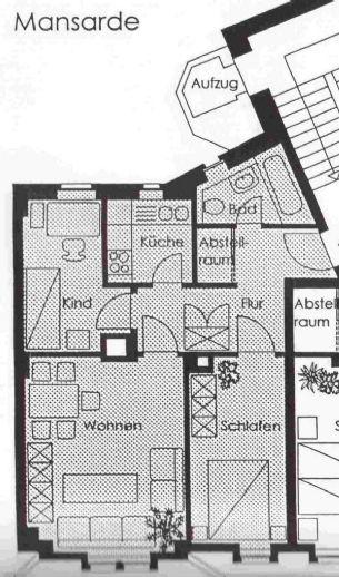 3- Zimmer- Wohnung in der Leipziger Vorstadt zu vermieten