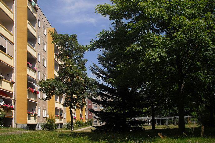 2-Raum-Wohnung mit Balkon am Kupferberg