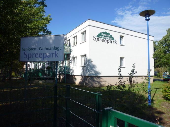 1 Zi Wohng. mit Balkon; Betreutes Wohnen in der Seniorenwohnanlage Spreepark Fürstenwalde