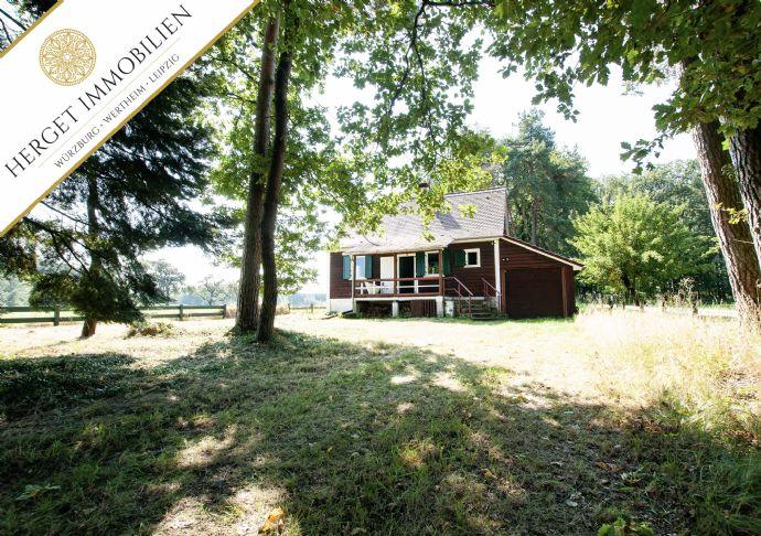 Historisches Jagdhaus in Alleinlage im