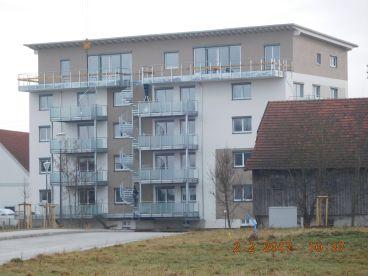 GANZ OBEN - Penthouse in Großaitingen - Wohnen in der oberen Mühle