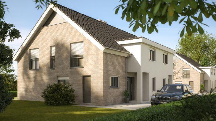 Wohn/Nutzfläche 240,59m² - Schöne Doppelhaushälfte mit großem Garten