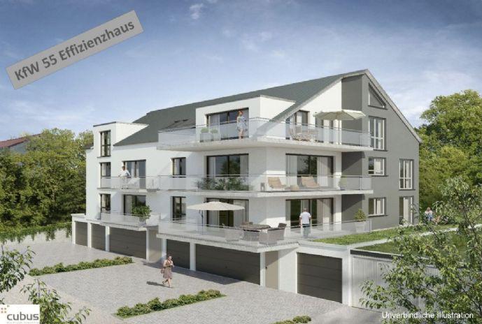 Traumhafte, helle 3-Zimmer-Wohnung (100 m²) in ruhiger Lage mit großem Balkon (Süd-West), Erstbezug, sofort verfügbar