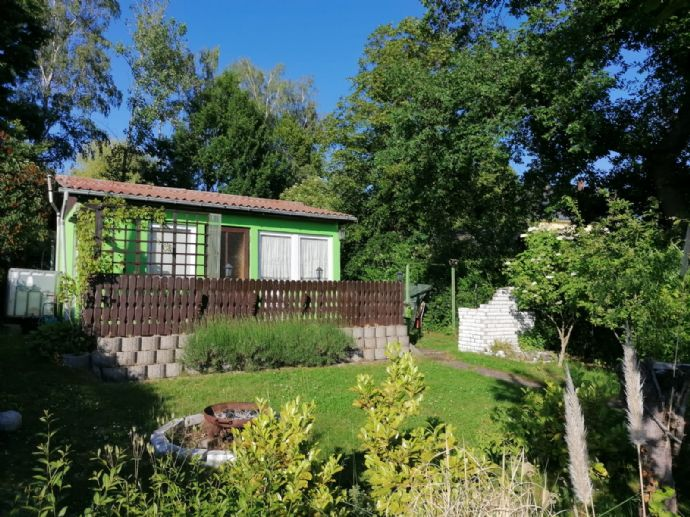 Garten in Bannewitz mit massivem
