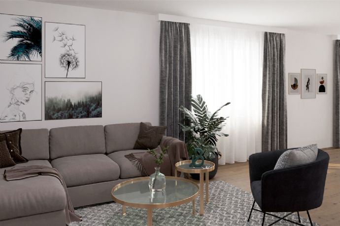 Attraktive Dachgeschoss-Eigentumswohnung in Mannheim Gartenstadt