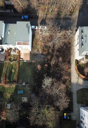 Graphisches Viertel! Unbebautes Grundstück für Wohnbebauung - trotz Innenstadtlage ruhig und grün