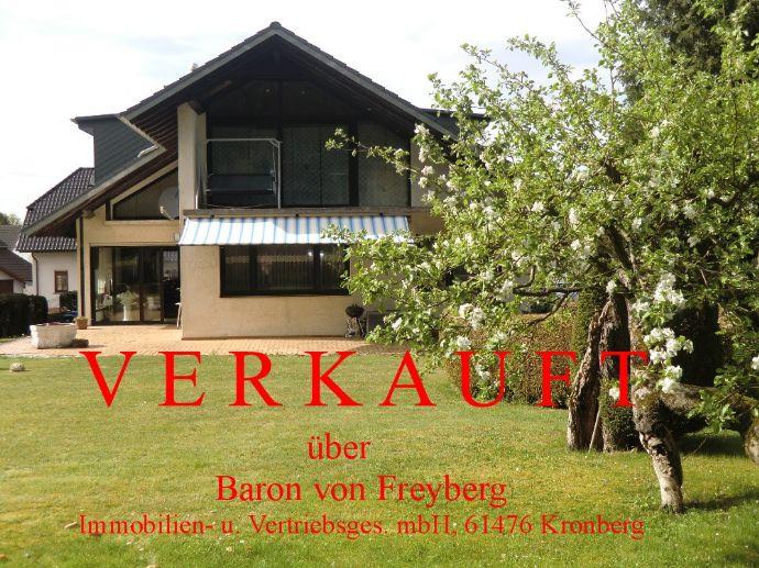 Grundsolides Mehrgenerationenhaus auf Traumgrundstück in Florstadt